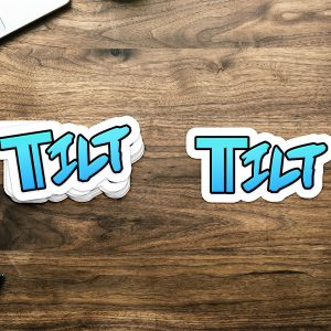 Tilt Logo Sticker